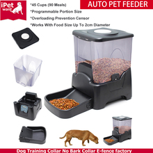 Automatic Dog Cat Pet Feeder with Timer Dry Food Dispenser