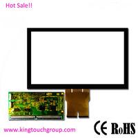 """Glass+Glass 5:4 19 """" capacitive touchscreen overlay kit for POS,ATM,Kiosk"""