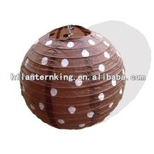 Brand polka dot wedding decoration paper lantern