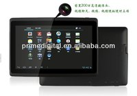 7 inch a13 high quality cheap tablet pc Android 4.0 Allwinner cortex-a8 1-1.5Ghz 4GB Capacitive 5-point Single or Dual WebCamera
