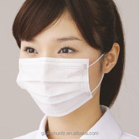 Guangzhou filter paper 2015 hot sale cusomized nonwoven medical face mask products
