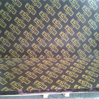 Cheap price film faced plywood with company name to South Africa