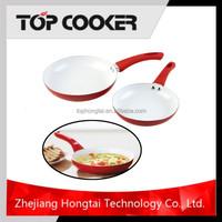 Aluminium Press Ceramic Coating Microwave Frying Pan