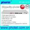 transmitter optic 4/8/16E1+Ethernet+RS232 over fiber