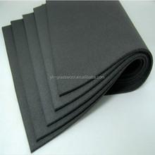 13 mm de espesor de aislamiento de calor NBR espuma de goma sábanas
