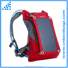 Solar Panel Bag, Nylon Materials, with 10000mAh Power Battery Pack Charge for Smart Cell Phones, Tablets, GPS, eReaders, Speaker