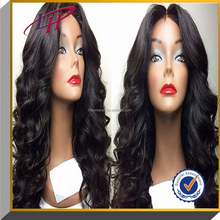 2015 Hot selling!!!Grade 6A hair wigs ,super body wave /loose wave /100% Brazilian virgin human hair full lace wigs with bangs