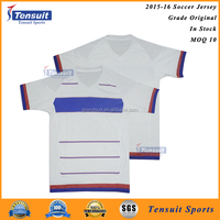 100% polyester dry fit shirts high quality classic football shirts soft material uniform