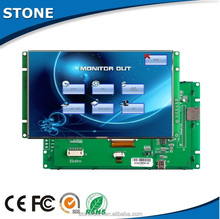 """7"""" lcd character display wide voltage screen industrial automation touch control"""