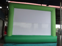 CILE latest model of the inflatable movie screen for advertising
