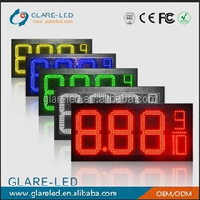 high value led gas price sign gas station digital display