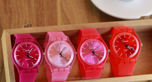 2015 China manufacture cheap and elegant silicone rubber watch