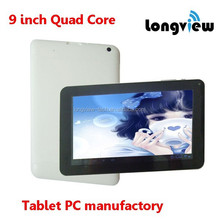 ShenZhen smart android tablet pc 9 inch quad core wifi MID 512MB 8GB cameras 4000mAh battery Action7029
