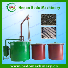 Energy saving gas flow smokeless sawdust briquette carbonization kiln with factory price