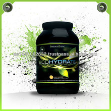 ECOHYDRATE - hydration / endurance / sport performance supplement - natural & organic sport nutrition - organic sport nutrition