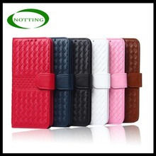 Hot selling design flip leather case for iphone 6 leather covers