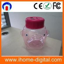 Big Capacity digital coin saving jar coin bank toys