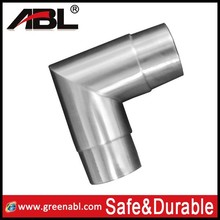 handrail stainless steel elbow fitting,led value 45 elbow