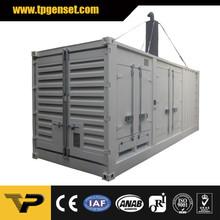 Silent type diesel generator TP1100CS 800KW 1000KVA 50Hz powered by Cummins engine