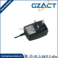 China Commonly used accessories CE list 18v 660ma adapter