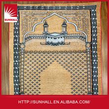 Hot selling 2015 customized fashion outdoor folding backrest prayer mat