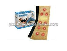 Electric Vibrating Bed Massage Mattress with Heat,2011 newest wool massage mattress