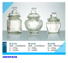 Can be sealed Glass Bottle for Tea and Food