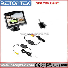 Hot Selling Backup camera 5 Inch Monitor Which Cars Have Rear View Cameras