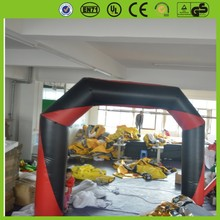 used inflatable advertising entrance arch rental led manufacture