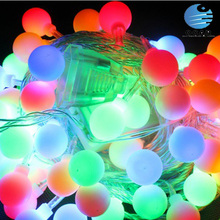 Long lifetime Led Christmas light with black or clear cable led string light 5usd for 5meters