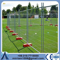 temporary fence barrier,chair plastic temp fence feet,plastic cover fence(anping baochuan)
