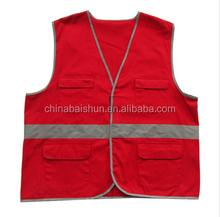 Urban búsqueda y rescate ropa protectora flujo dentro oscuro verano desechable chaleco reflectante de seguridad