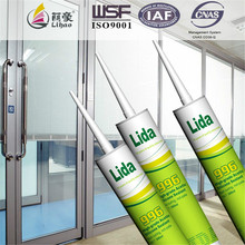 fast cure, not-pale high-grade acetic construction usage glass sealant