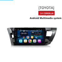 For Toyota Corolla 2015 10.1 Mirror Link 3G Wifi USB Radio GPS Android 4.4 Car Mp3 Player