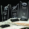 New products! professional manufacturer customized crystal hand award trophy