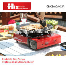PORTABLE BBQ GAS STOVE WITH CE