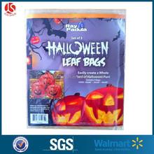 3 pk plastic jumbo pumpkin bag/Halloween jumbo bag/Halloween party supplies