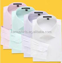 100% Cotton High quality man dress shirts latest shirt designs for men