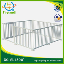 outlets wooden outside folding baby playpen,Round or Square luxury baby playpen,High quality baby safety fence