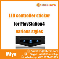 Fashionable Design Wholesale 5 pcs led light bar decal sticker for ps4 controller
