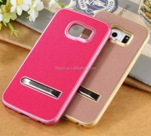 Genuine leather mobile phone case for samsung S6
