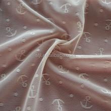 Warp knitting nylon spandex jacquard fabric, widely used for lace underwear fabric, tissu de sous-vetements de dentelle