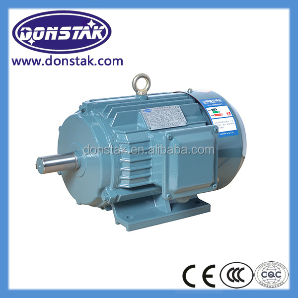 Two speed three phase ac electric induction hub motor for 2 speed single phase electric motor