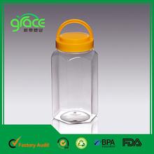 botella de plástico hermosa