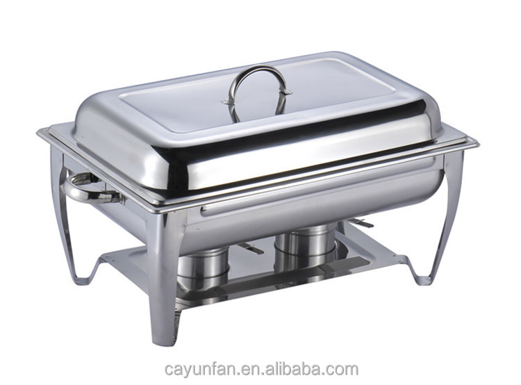Food Tray Warmer ~ Liter capacity stainless steel chaffing dish warming