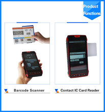 android handheld mobile phone 3g bluetooth wifi with display touch screen terminal 1d 2d qr barcode reader scanner price