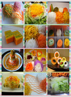 Decorative vegetable cutters