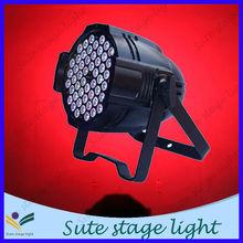 3W*54pcs rgbw de alta potencia luces baratas dj