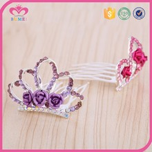 High quality flower girl tiara with sliver plating