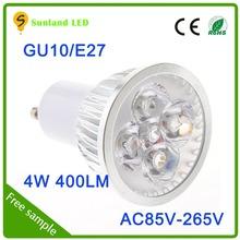 Importazioni taiwan 5w ce rohs gu10 ac85-265v ha condotto la luce pin